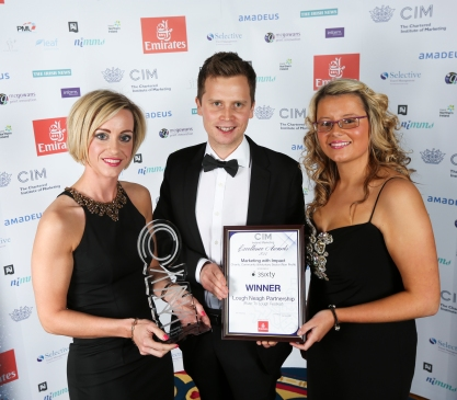 CIM Ireland Marketing Excellence Awards Winner Eimear Kearney