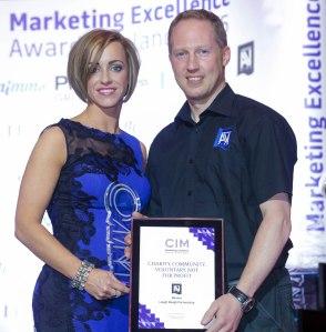 CIM Award winner 2015 Eimear Kearney
